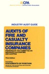 Audits of fire and casualty insurance companies (1979)