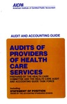 Audits of providers of health care services (1990)