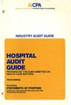 Hospital audit guide (1980); Industry audit guide; Audit and accounting guide