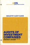 Audits of investment companies (1973)