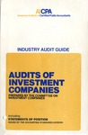 Audits of investment companies (1977)
