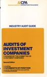 Audits of investment companies (1979)