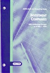 Investment companies, with conforming changes as of May 1, 2006; Audit and accounting guide: