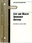 Life and health insurance entities, new edition as of June 15, 2000