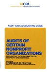Audits of certain nonprofit organizations (1981)