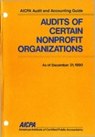 Audits of certain nonprofit organizations as of December 31, 1990