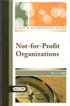 Not-for-profit organizations with conforming changes as of March 1, 2008; Audit and accounting guide: not-for-profit organizations