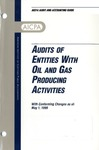 Audits of entities with oil and gas producing activities with conforming changes as of May 1, 1999