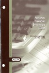 Personal financial statements guide with conforming changes as of May 1, 2003
