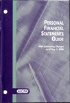 Personal financial statements guide with conforming changes as of May 1, 2006; Audit and accounting guide: