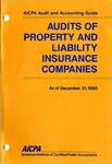 Audits of property and liability insurance companies as of December 31, 1990; Audit and accounting guide: