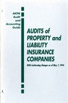 Audits of property and liability insurance companies with conforming changes as of May 1, 1994