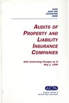 Audits of property and liability insurance companies with conforming changes as of May 1, 1996