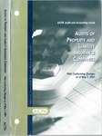 Audits of property and liability insurance companies with conforming changes as of May 1, 2001