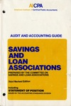 Savings and loan associations (1986)