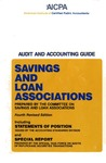 Savings and loan associations (1987); Audit and accounting guide: