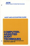 Computer-assisted audit techniques (1979); Industry audit guide; Audit and accounting guide