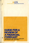 Guide for a review of a financial forecast (1980); Industry audit guide; Audit and accounting guide