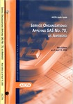 Service organizations, applying SAS no. 70, as amended