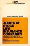 Audits of stock life insurance companies (1978)