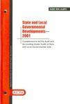 State and local governmental developments - 2001; Audit risk alerts