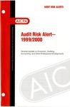Audit risk alert - 1999/2000
