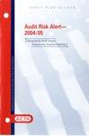 Audit risk alert - 2004/05