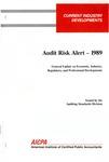 Audit risk alert - 1989; Audit risk alerts