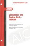Compilation and review alert - 1998/99; Audit risk alerts