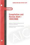 Compilation and review alert - 1999/2000; Audit risk alerts
