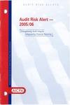 Audit risk alert - 2005/06; Audit risk alerts