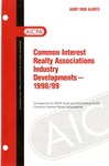 Common interest realty associations industry developments - 1998/99