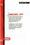 Single audits - 2002; Audit risk alerts: Single audits