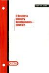 E-business industry developments - 2001/02; Audit risk alerts