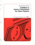 Guidelines to assess computerized tax return systems; Computer services guidelines