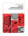Audit and control considerations in an on-line environment; Computer services guidelines