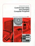 Controls over using and changing computer programs; Computer services guidelines