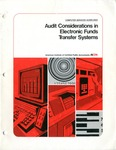 Audit considerations in electronic funds transfer systems; Computer services guidelines