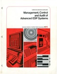 Management, control, and audit of advanced EDP systems; Computer services guidelines