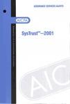 SysTrust - 2001; Assurance services alerts: SysTrust