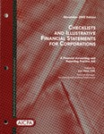 Checklists and illustrative financial statements for corporations : a financial accounting and reporting practice aid, November 2005 edition