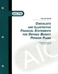Checklists and illustrative financial statements for defined benefit pension plans : a financial accounting and reporting practice aid, June 1997 edtion
