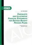 Checklists and illustrative financial statements for defined benefit pension plans : a financial accounting and reporting practice aid, July 2000 edition