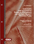 Checklists and illustrative financial statements for defined benefit pension plans : a financial accounting and reporting practice aid, July 2005 edition