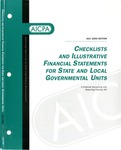 Checklists and illustrative financial statements for state and local governmental units : a financial reporting practice aid, July 2000 edition