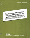 Checklists and illustrative financial statements for agricultural cooperatives : a financial reporting practice aid, November 1990 edition
