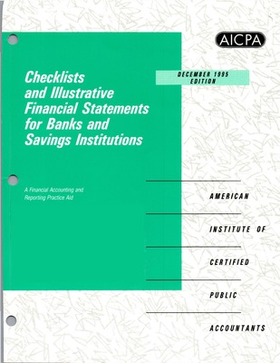Checklists and illustrative financial statements for banks