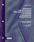 Checklists and illustrative financial statements for defined contribution pension plans : a financial accounting and reporting practice aid, July 2006 edition
