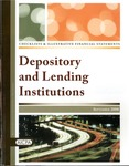 Checklists and illustrative financial statements : Depository and lending institutions, September 2008 edition by American Institute of Certified Public Accountants