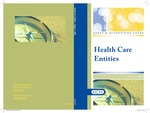 Health care entities with conforming changes as of May 1, 2009; Audit and accounting guide by American Institute of Certified Public Accountants. Health Care Committee